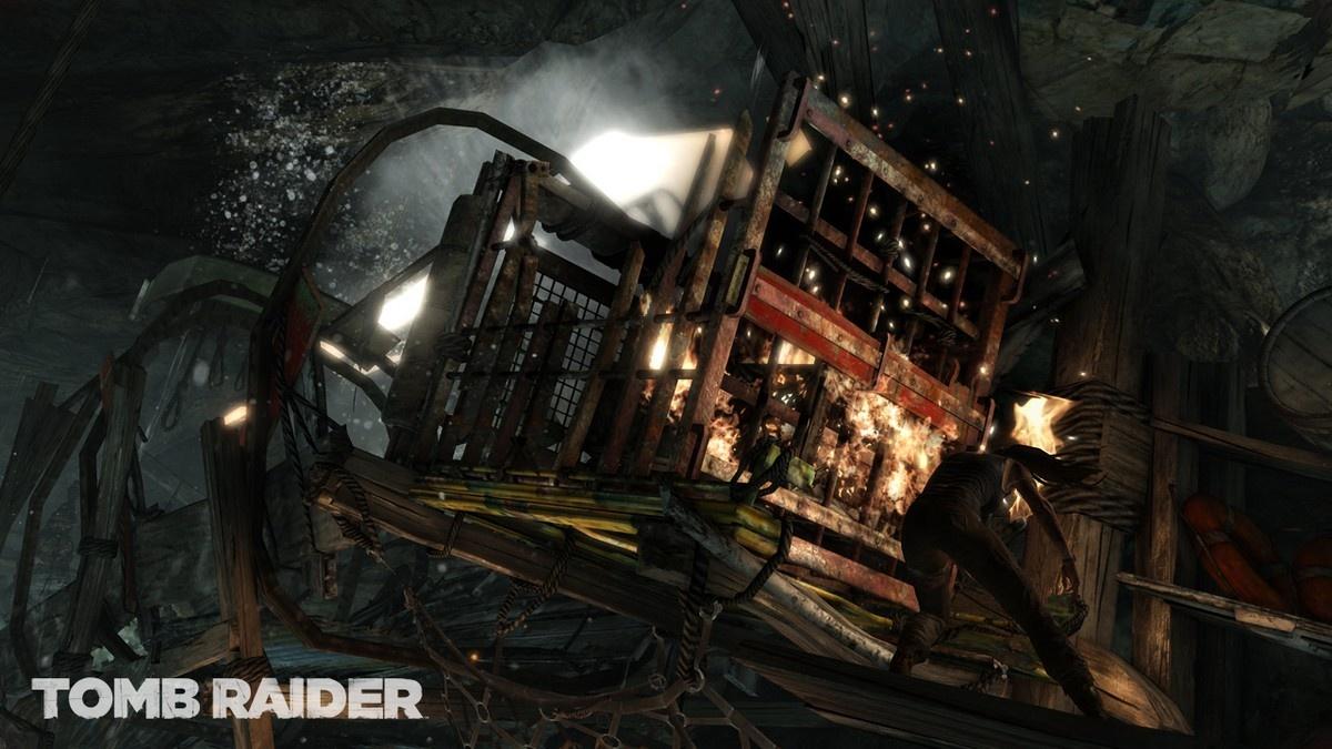E3 2011: Obrázky z Tomb Raider 44454