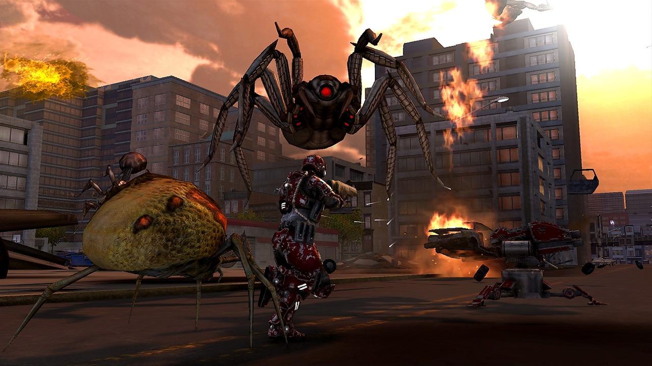 Earth Defense Force: Insect Armageddon – čím větší nepřátelé, tím více střílení 44645