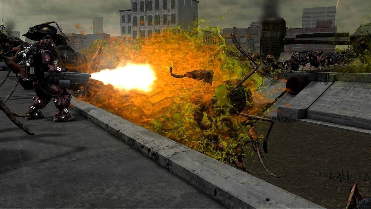 Earth Defense Force: Insect Armageddon – čím větší nepřátelé, tím více střílení 44647