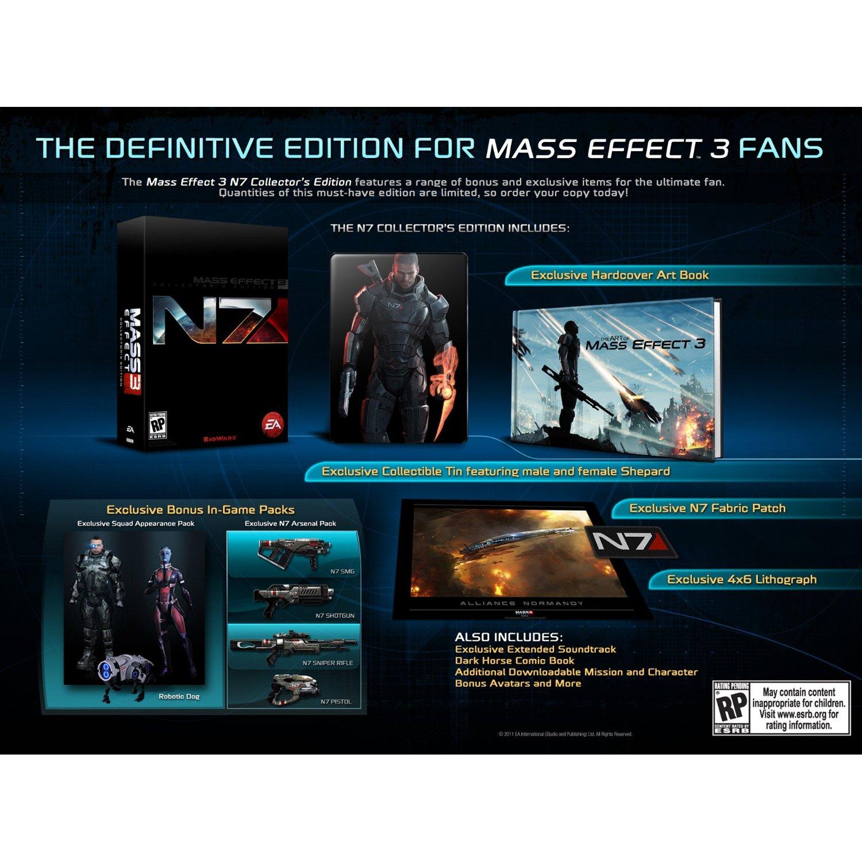 Mass Effect 3 – Sběratelská edice N7 potvrzena 44693
