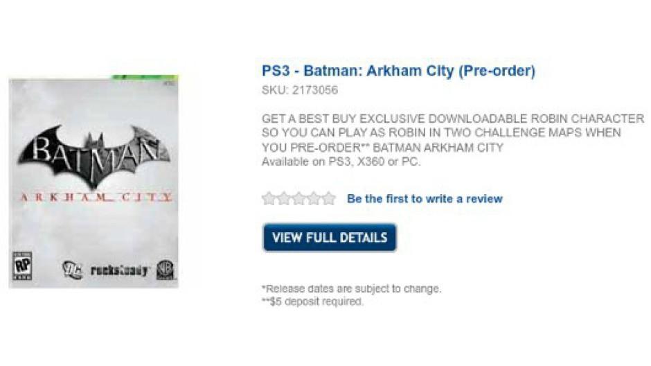 V Arkham City si zahrajeme i za Robina 44725