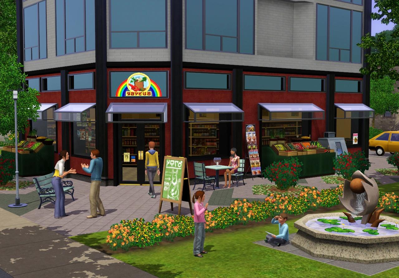 The Sims 3 - oznámena kolekce Moje městečko 45094