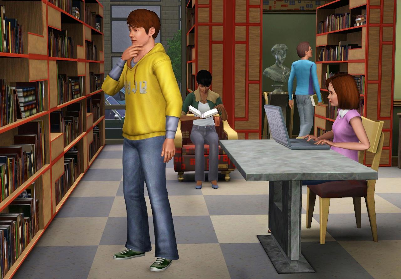 The Sims 3 - oznámena kolekce Moje městečko 45095