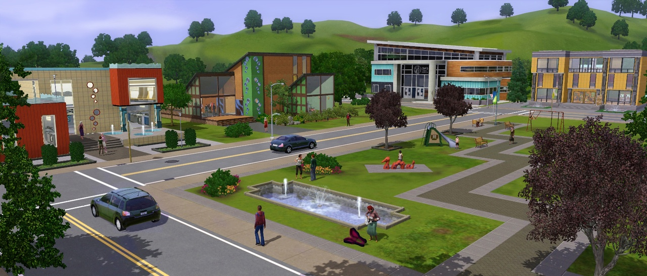 The Sims 3 - oznámena kolekce Moje městečko 45096
