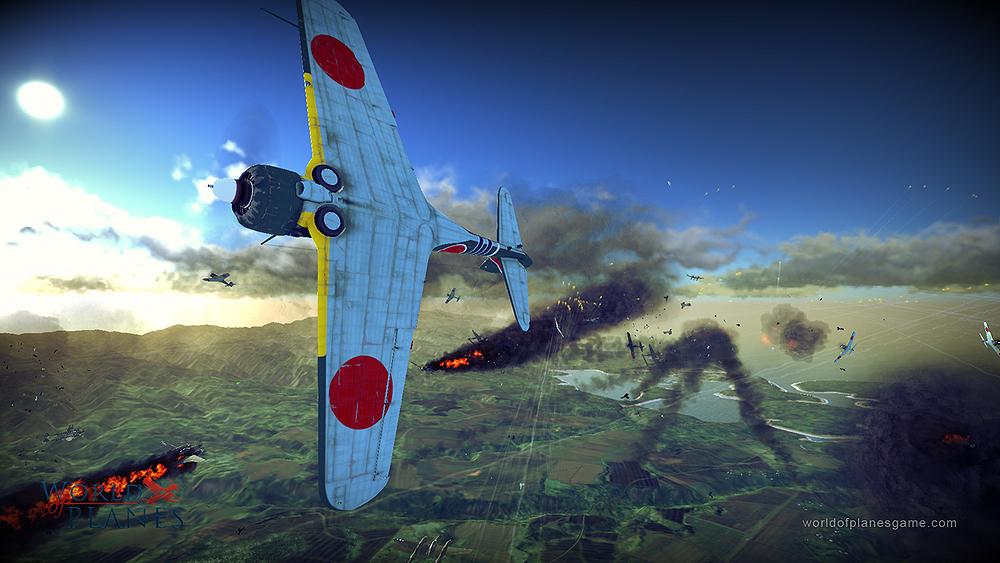 Masivně multiplayerové letecké bitvy World of Planes 45172