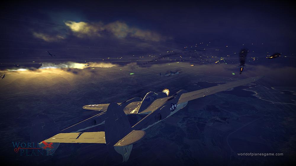 Masivně multiplayerové letecké bitvy World of Planes 45174