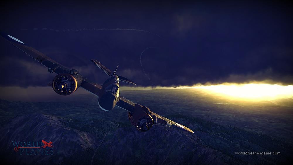 Masivně multiplayerové letecké bitvy World of Planes 45175