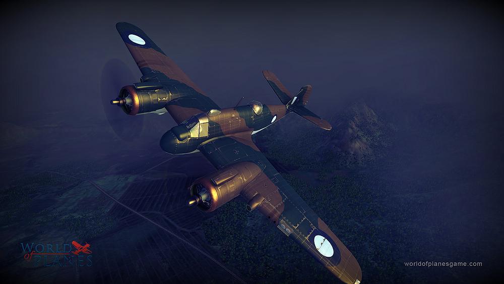 Masivně multiplayerové letecké bitvy World of Planes 45176