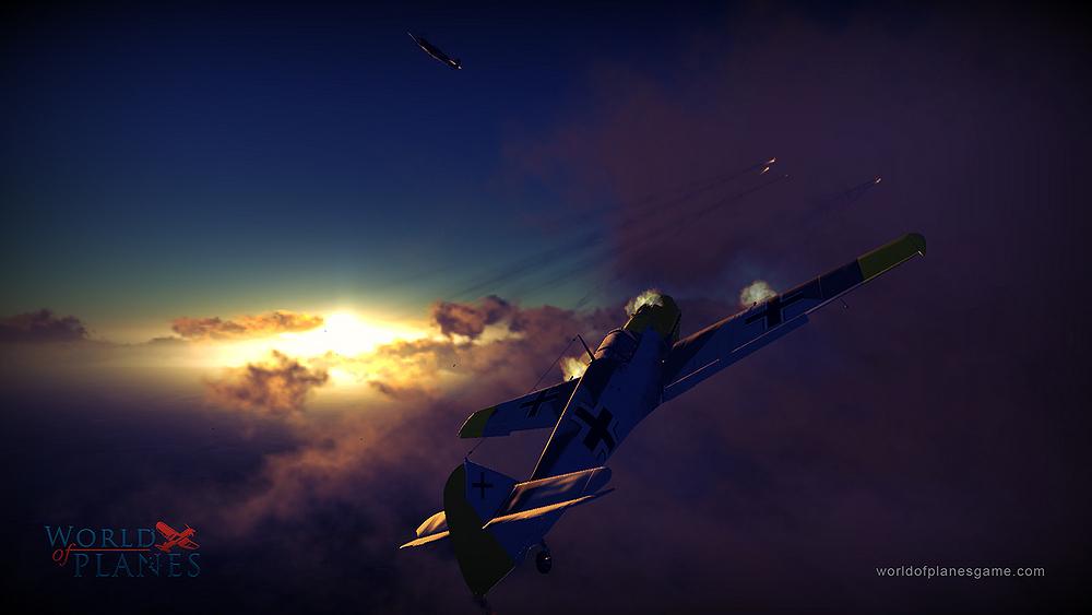 Masivně multiplayerové letecké bitvy World of Planes 45177