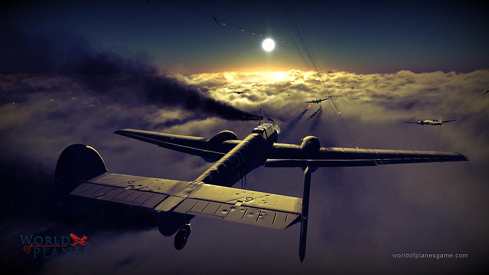 Masivně multiplayerové letecké bitvy World of Planes 45180