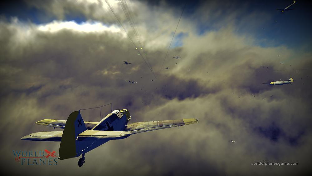 Masivně multiplayerové letecké bitvy World of Planes 45181