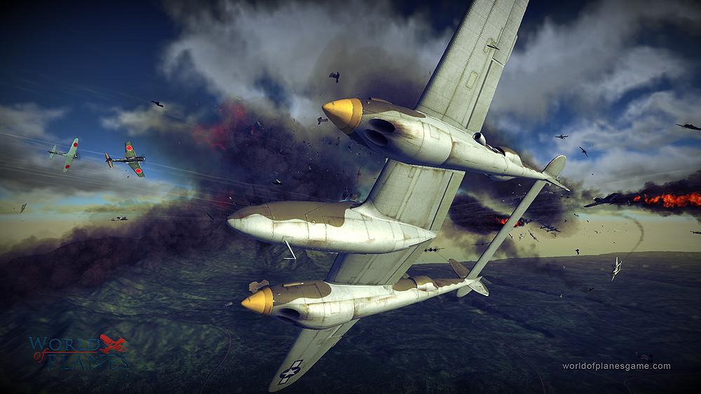 Masivně multiplayerové letecké bitvy World of Planes 45185