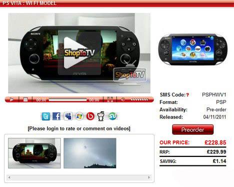 Uniklo datum vydání PlayStation Vita 45311