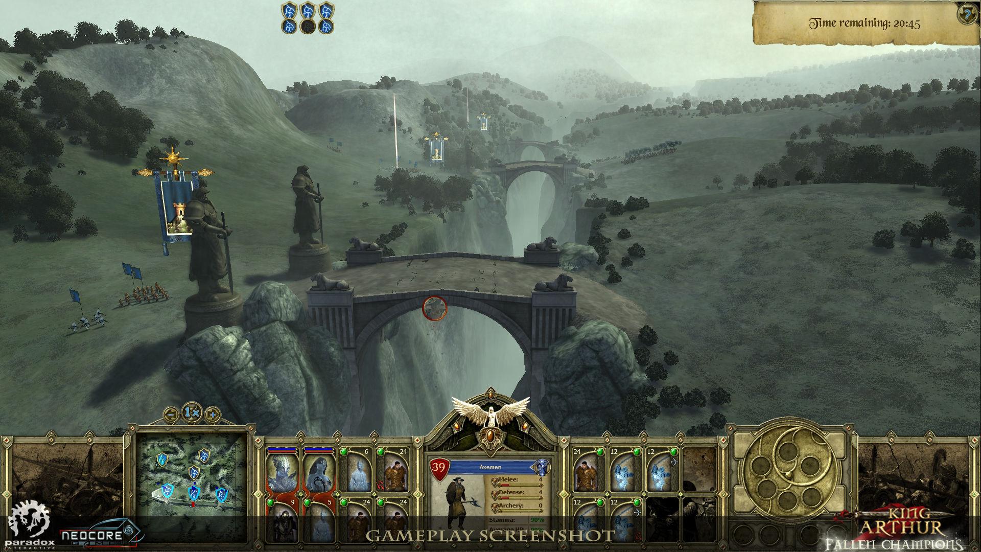 Představena strategie King Arthur: Fallen Champions 45426