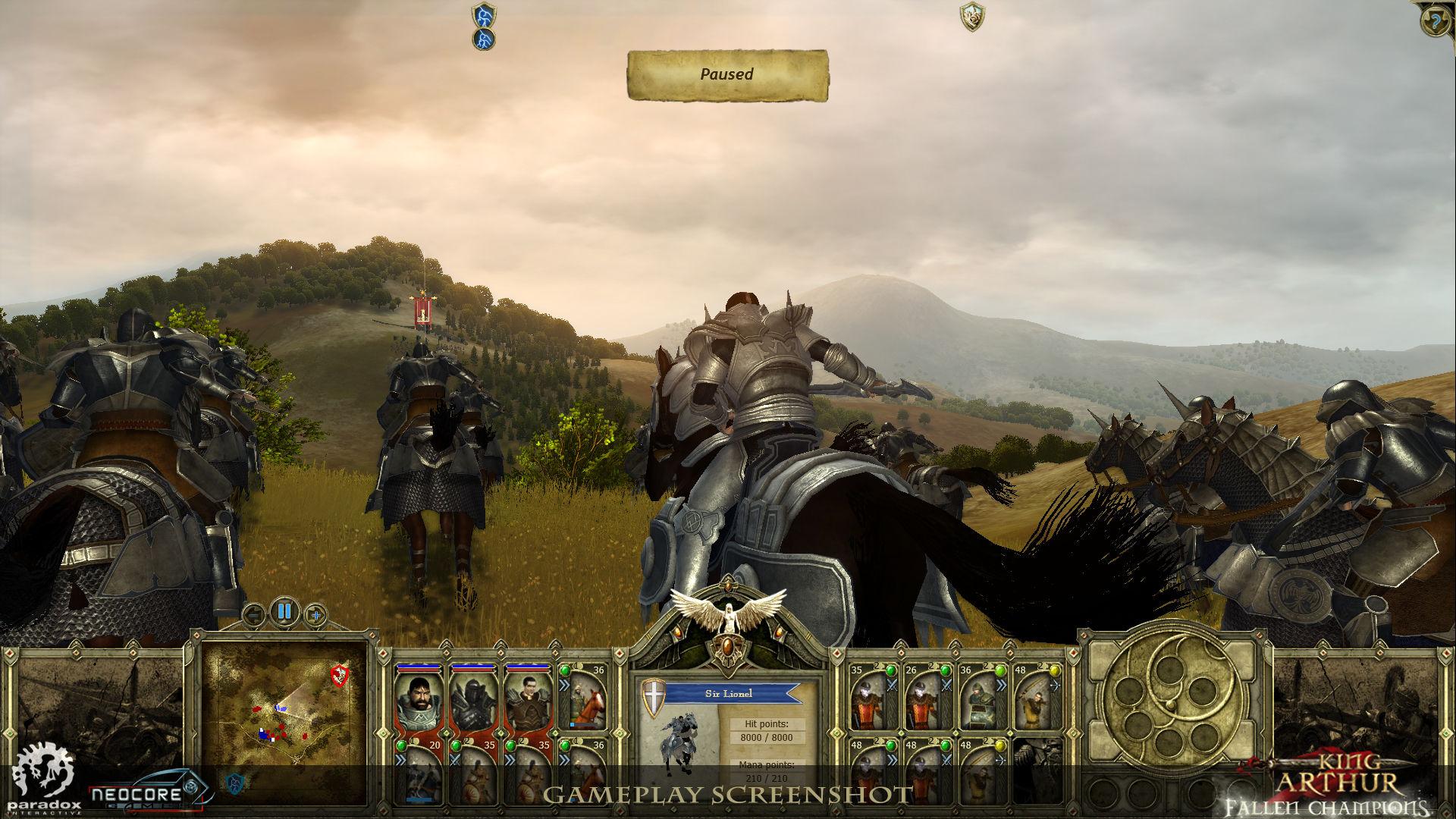 Představena strategie King Arthur: Fallen Champions 45427