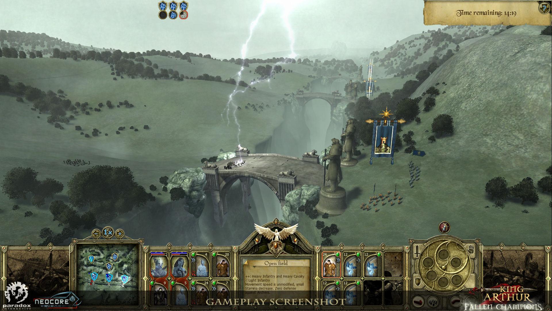 Představena strategie King Arthur: Fallen Champions 45430