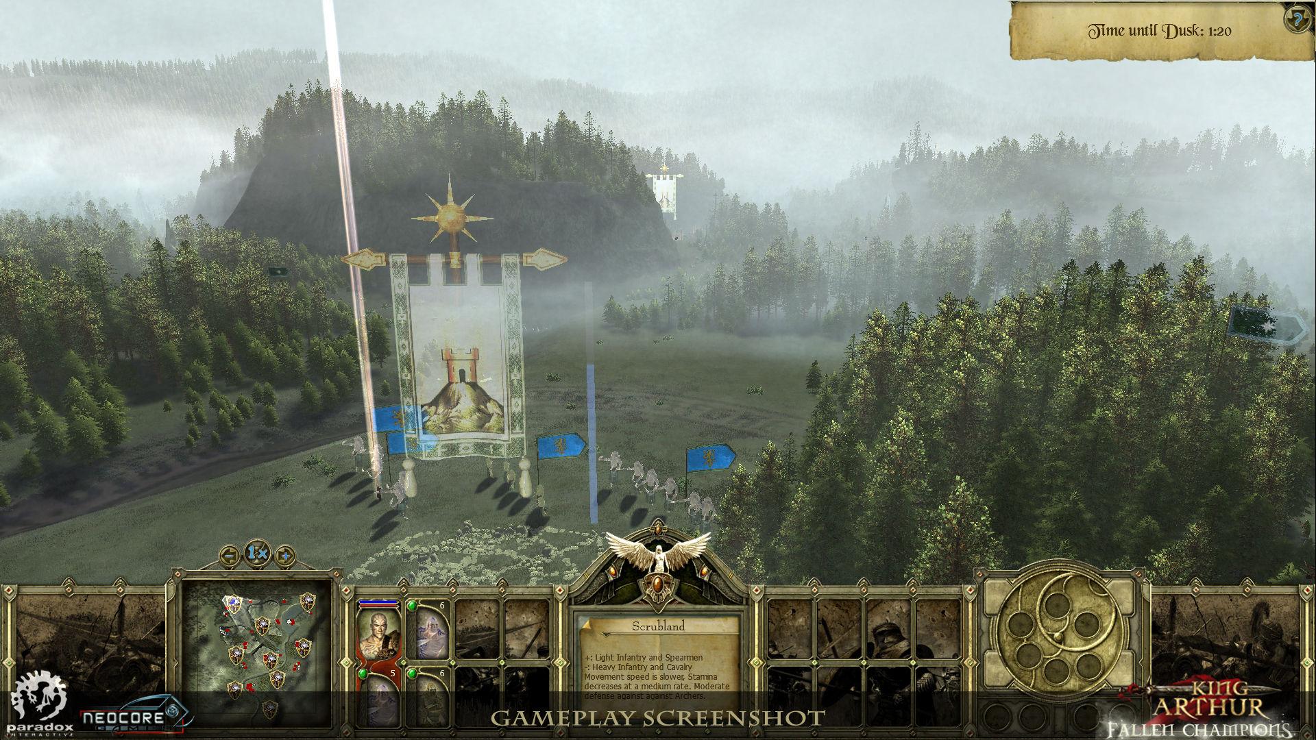Představena strategie King Arthur: Fallen Champions 45431