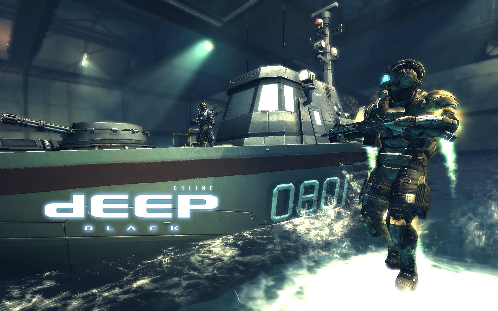 Oznámeno MMO Deep Black Online 45617