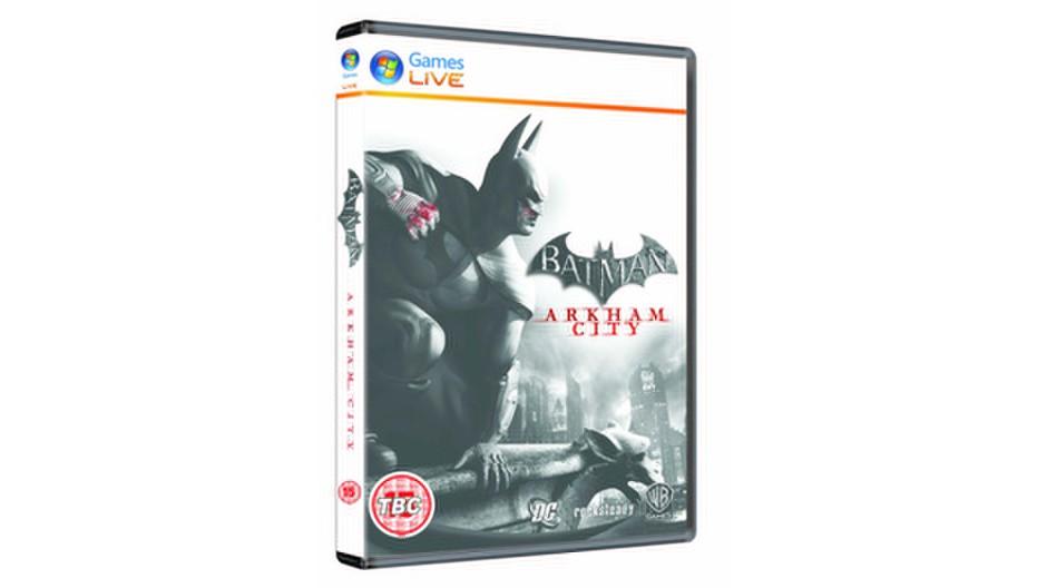 Batman: Arkham City odhaluje oficiální obal 45664