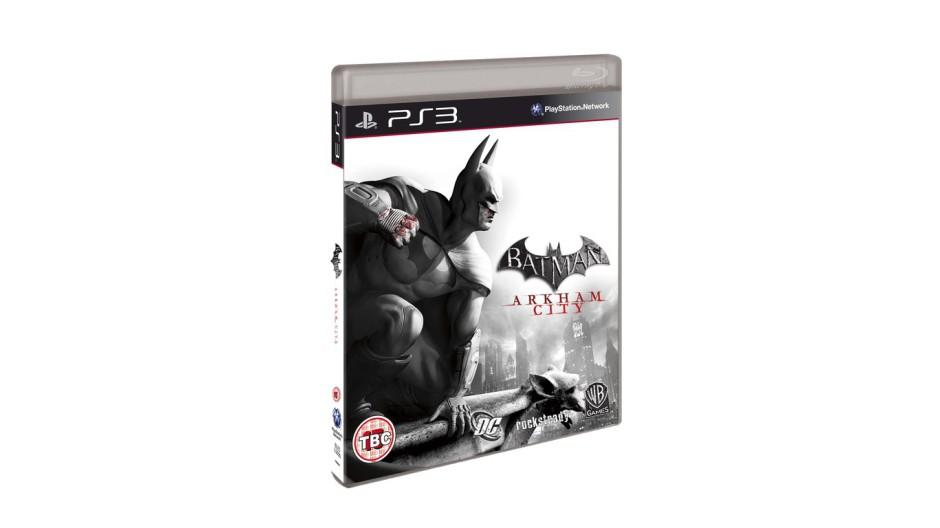 Batman: Arkham City odhaluje oficiální obal 45665