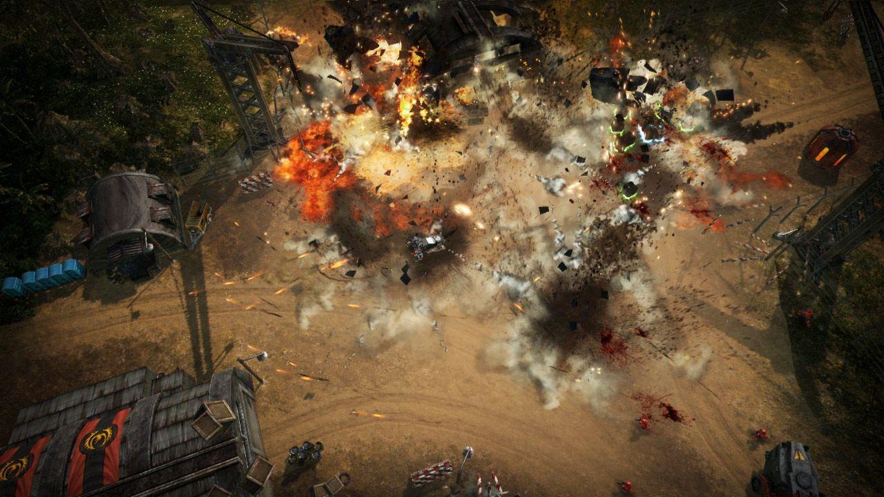 Obrázky z explodujícího Renegade Ops 46205
