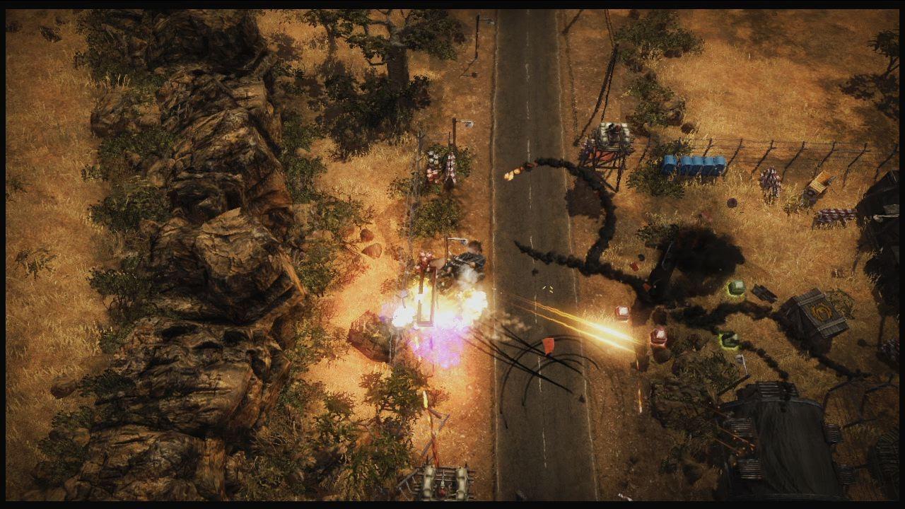 Obrázky z explodujícího Renegade Ops 46206