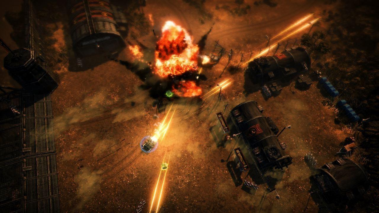Obrázky z explodujícího Renegade Ops 46207