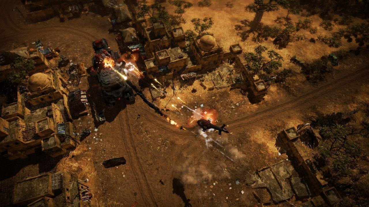 Obrázky z explodujícího Renegade Ops 46209