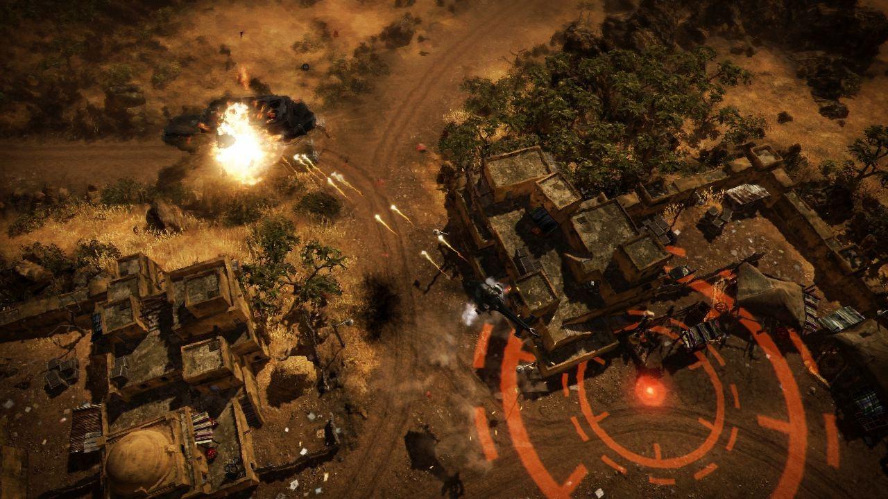 Obrázky z explodujícího Renegade Ops 46210
