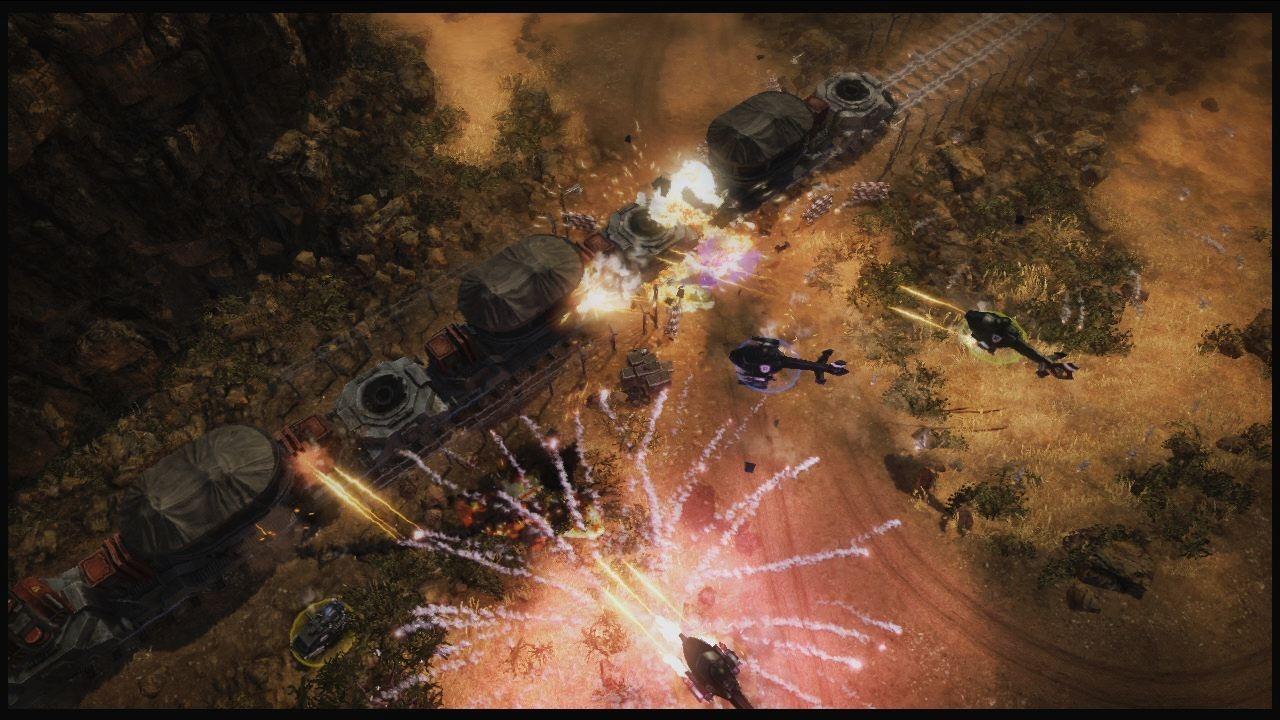 Obrázky z explodujícího Renegade Ops 46211