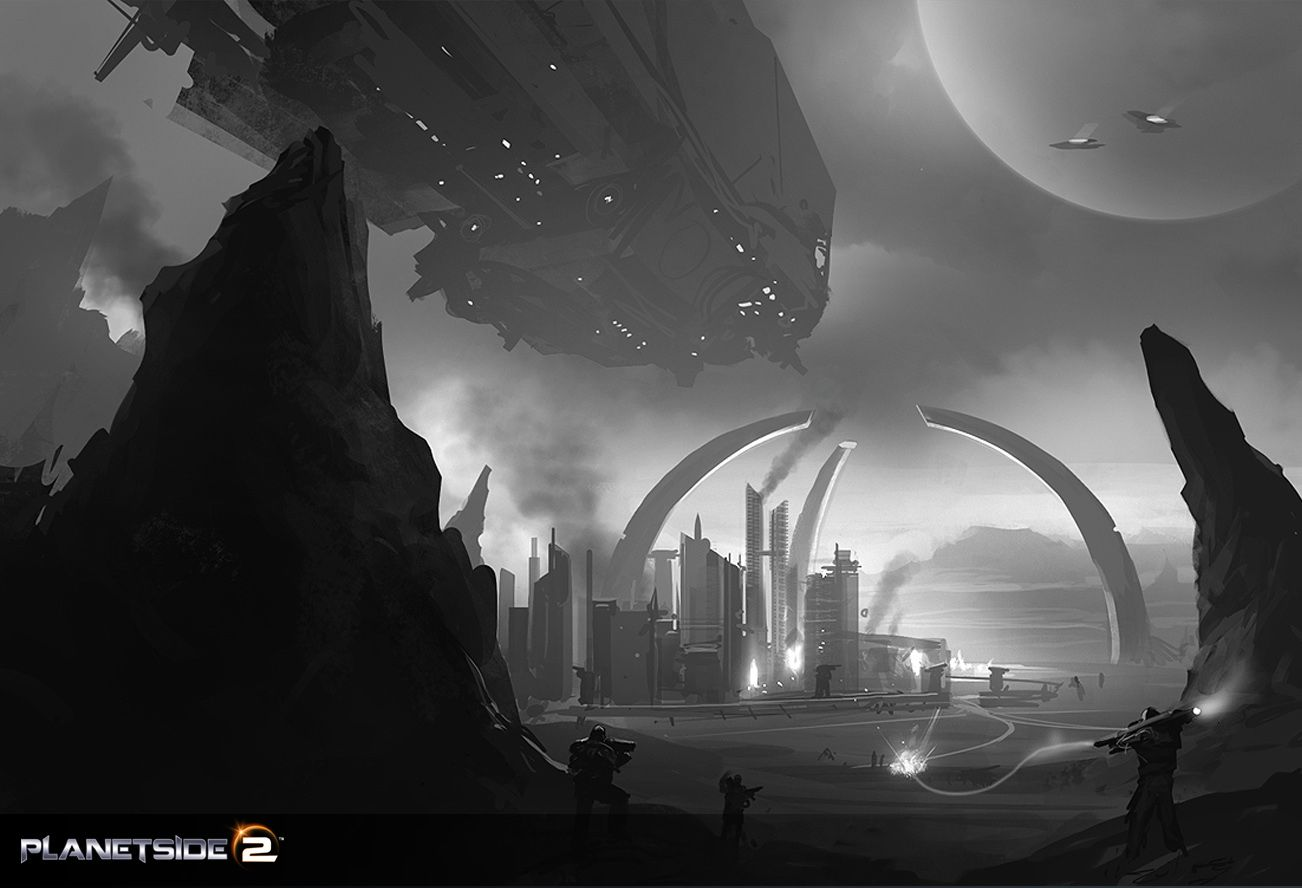 PlanetSide 2 v debutovém traileru 46291