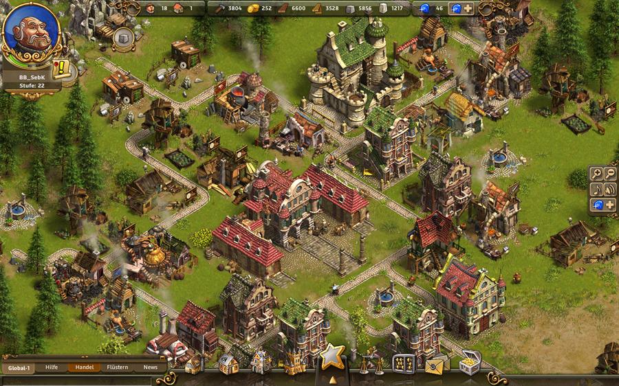 Tvůrci Settlers chystají Castle Empire 46407