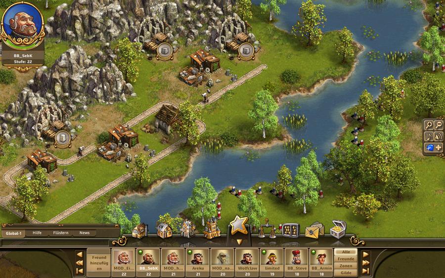 Tvůrci Settlers chystají Castle Empire 46408