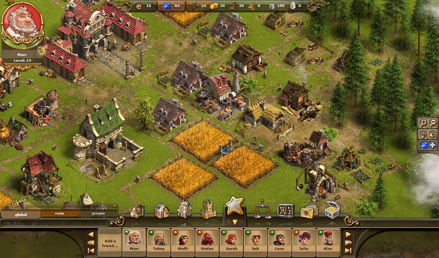 Tvůrci Settlers chystají Castle Empire 46409