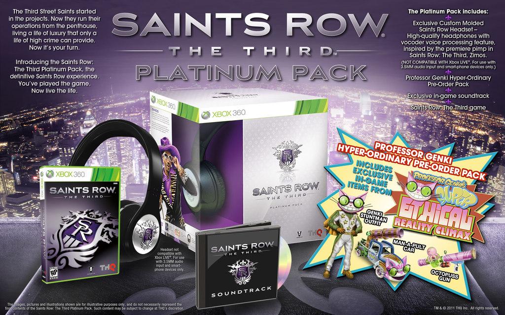 Saints Row: The Third odhaluje Platinovou edici 46517