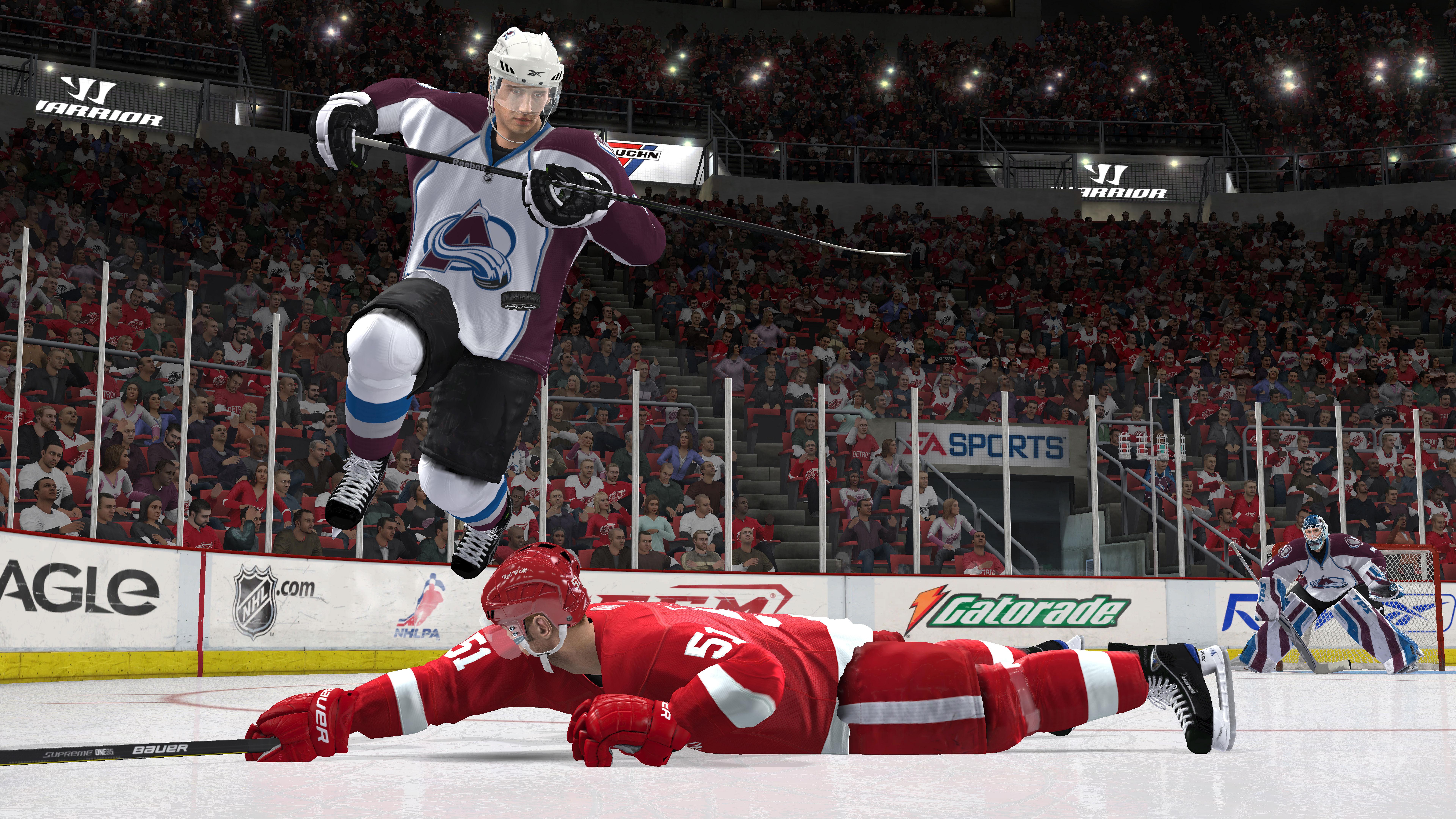 NHL 11 – lámání hokejek započne 4750