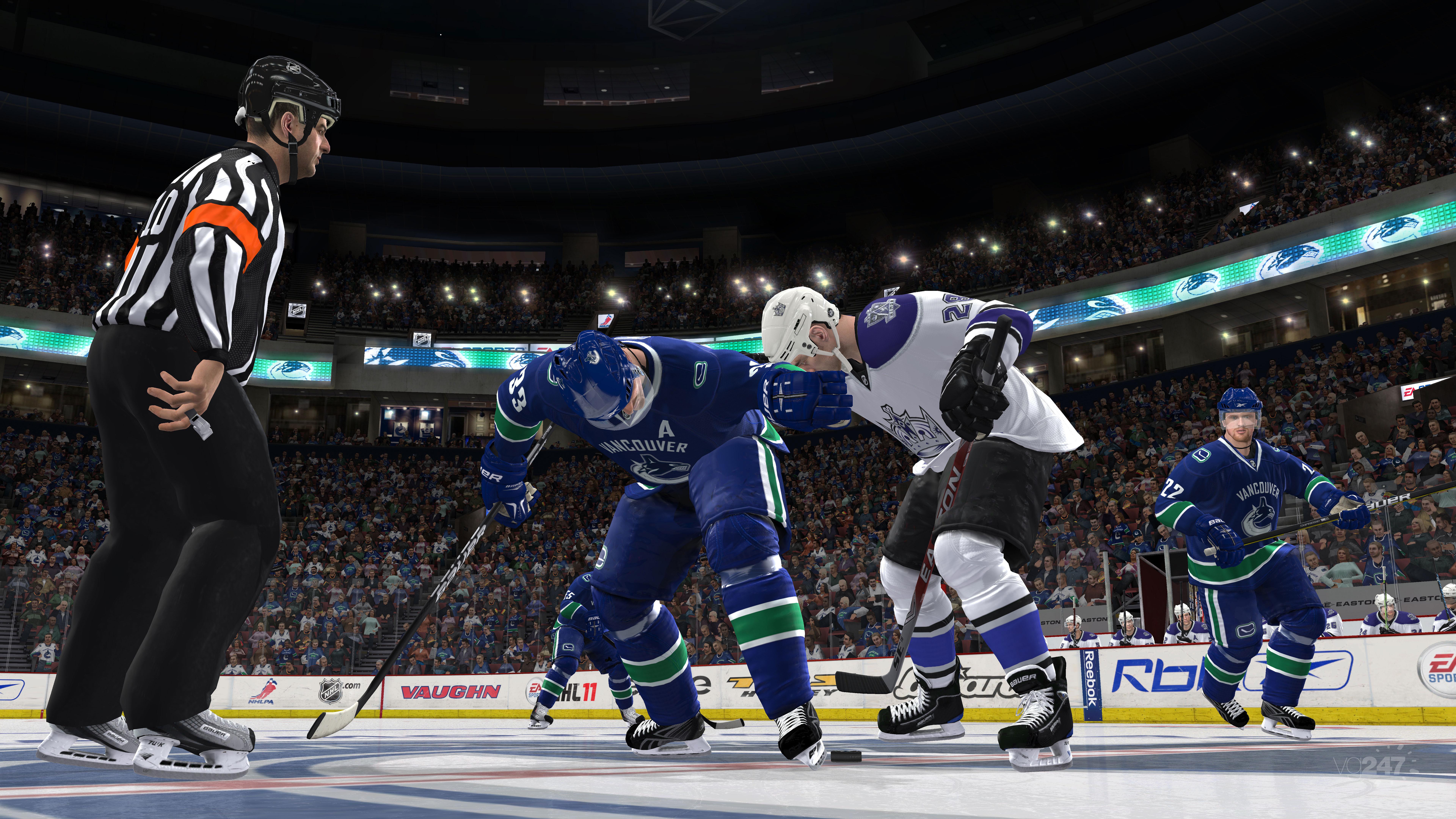 NHL 11 – lámání hokejek započne 4751