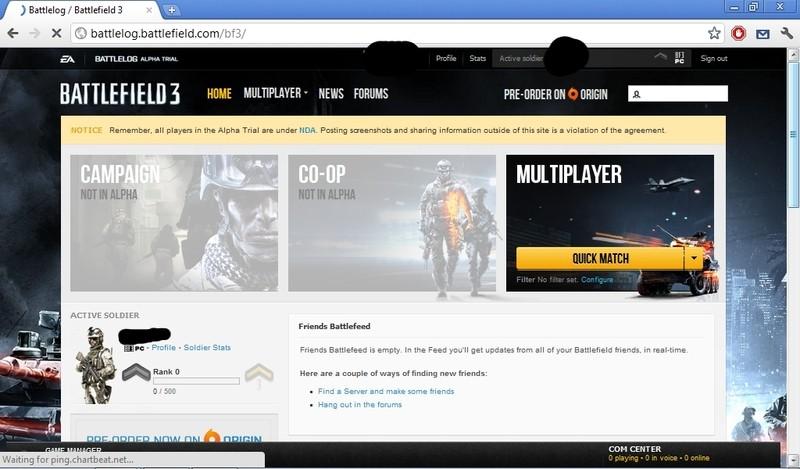 Battlefield 3 a obrázky z Battlelogu 47583