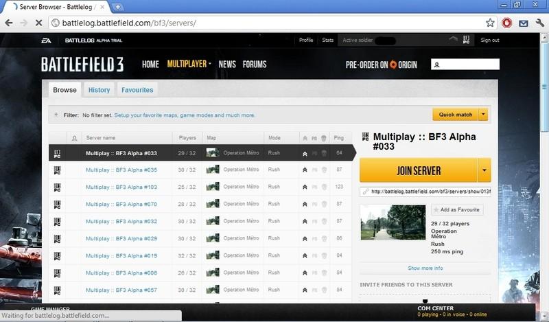 Battlefield 3 a obrázky z Battlelogu 47584