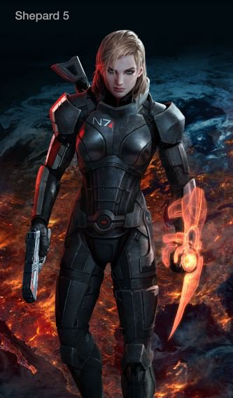 Mass Effect 3 – Bude prsatý Shepard blonďatý? 47598