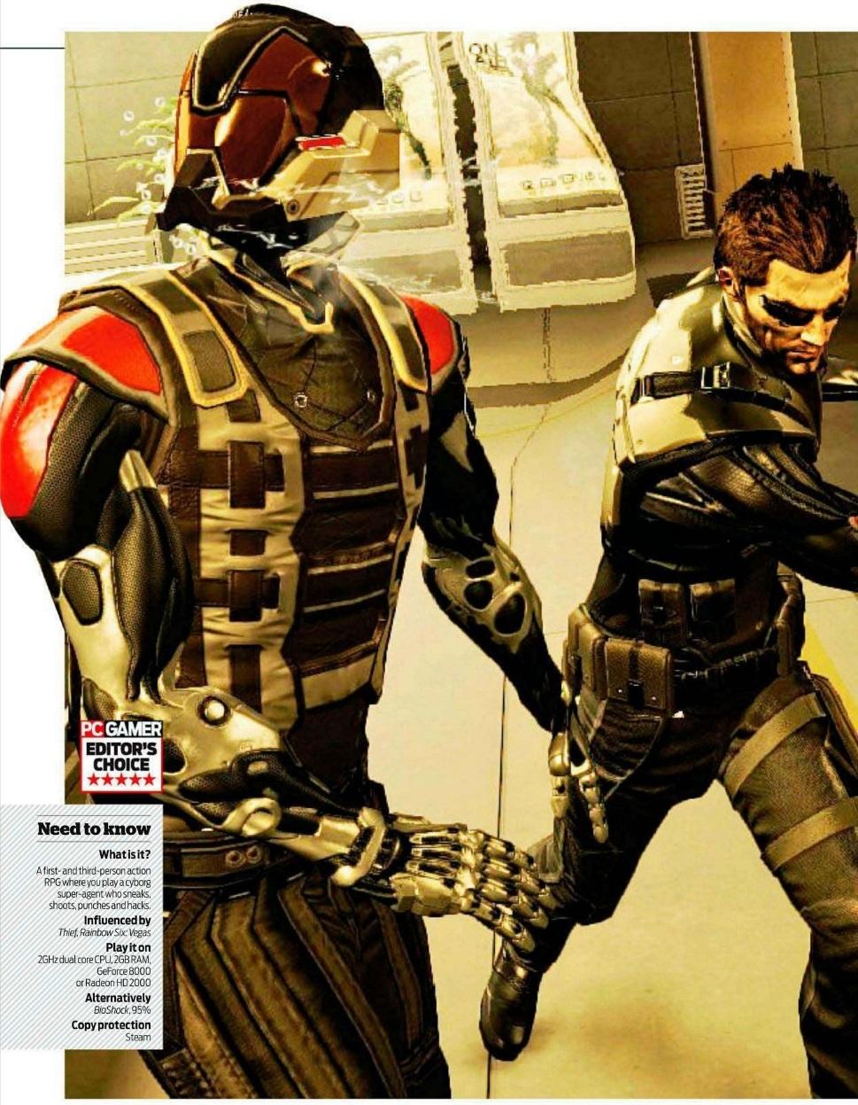 Deus Ex: Human Revolution v první recenzi 48074