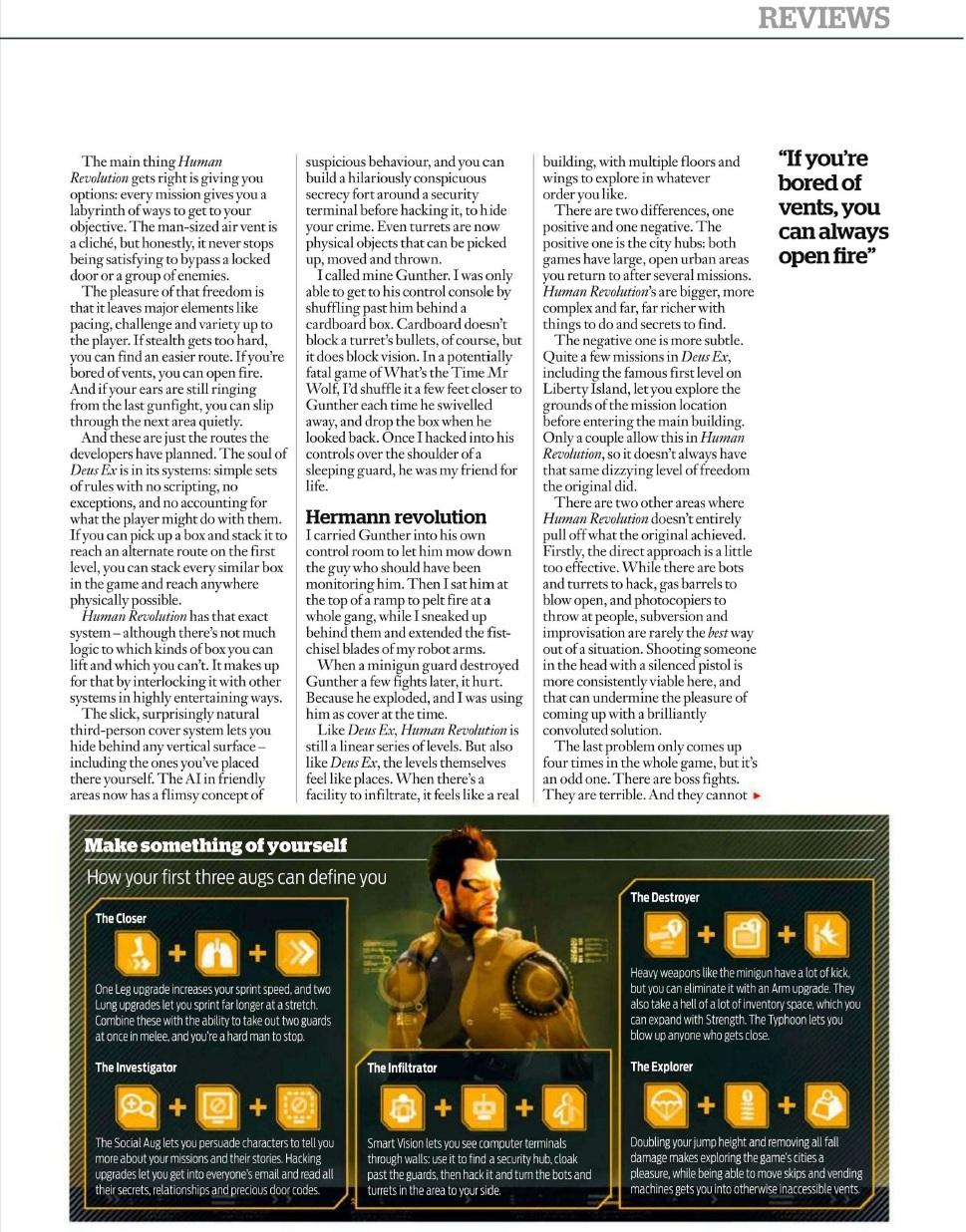 Deus Ex: Human Revolution v první recenzi 48077