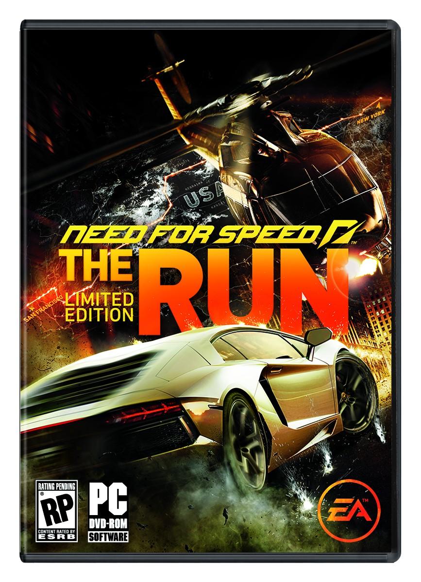Oznámena limitovaná edice NFS: The Run 48125
