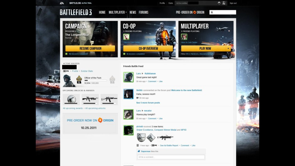 BF3: Nové pohlednice z Battlelogu 48156