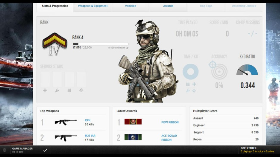 BF3: Nové pohlednice z Battlelogu 48157