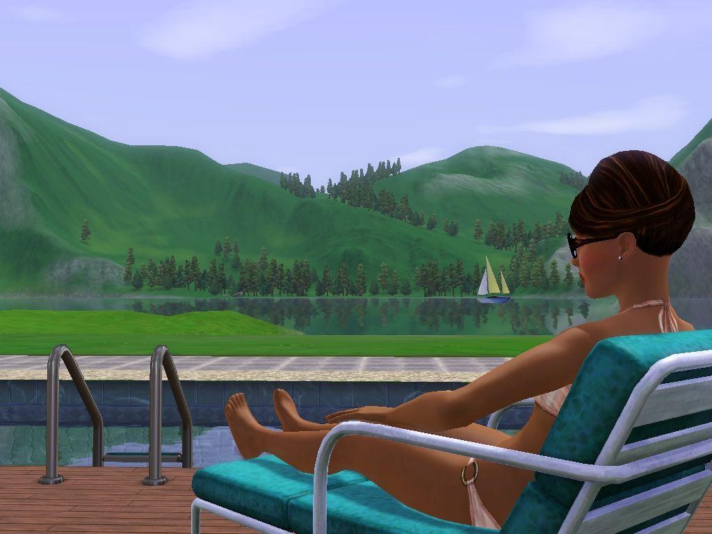 Představen přídavek The Sims 3: Horské lázně 48377