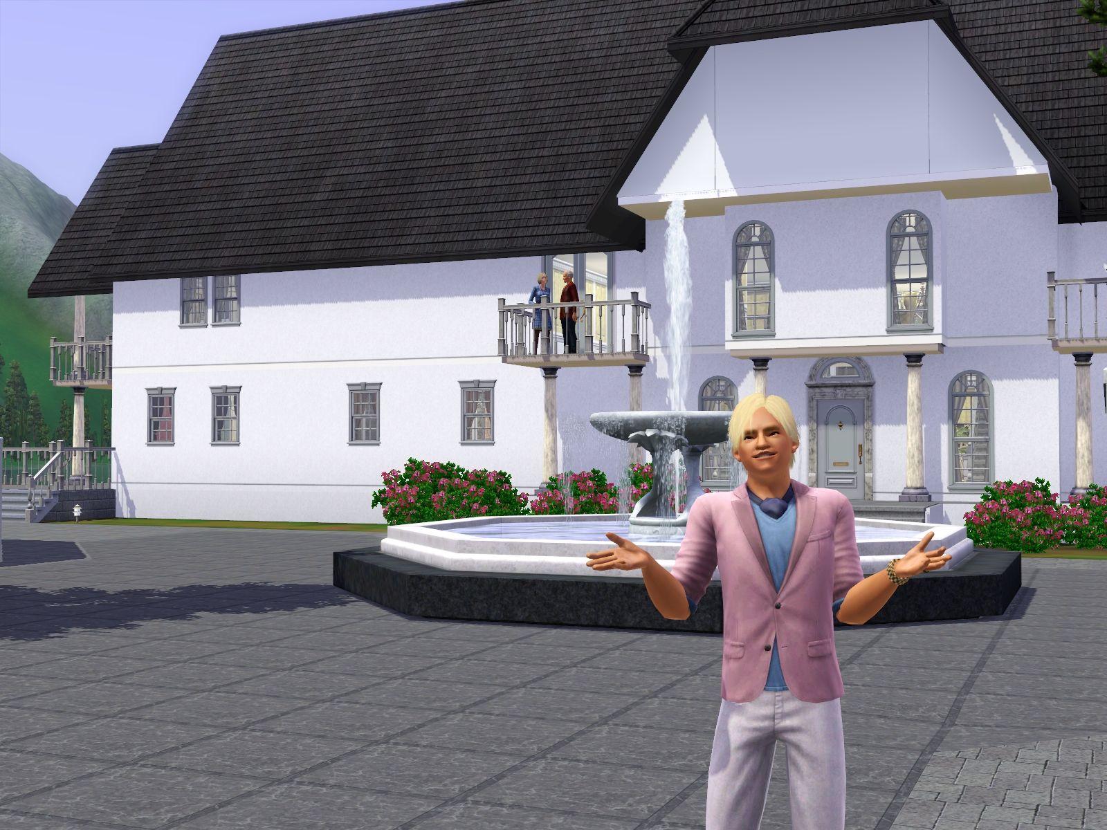 Představen přídavek The Sims 3: Horské lázně 48378