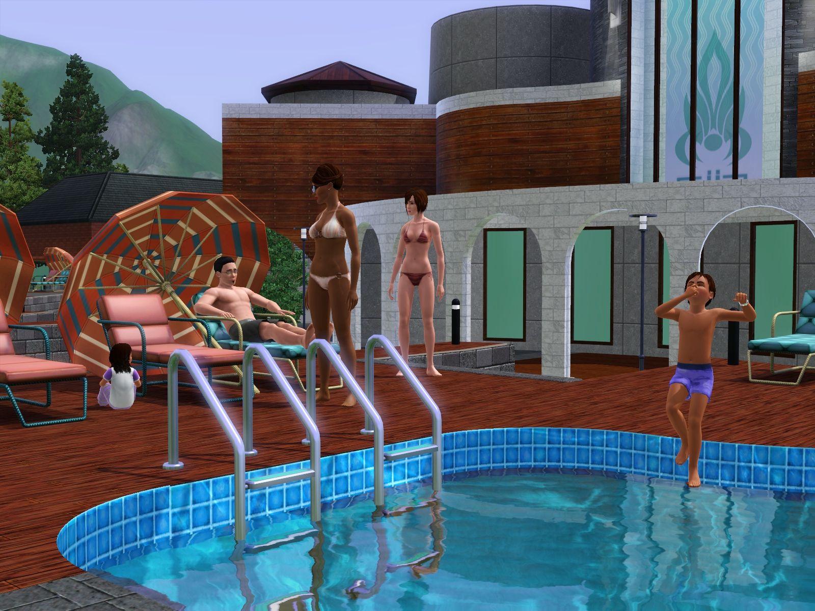 Představen přídavek The Sims 3: Horské lázně 48380