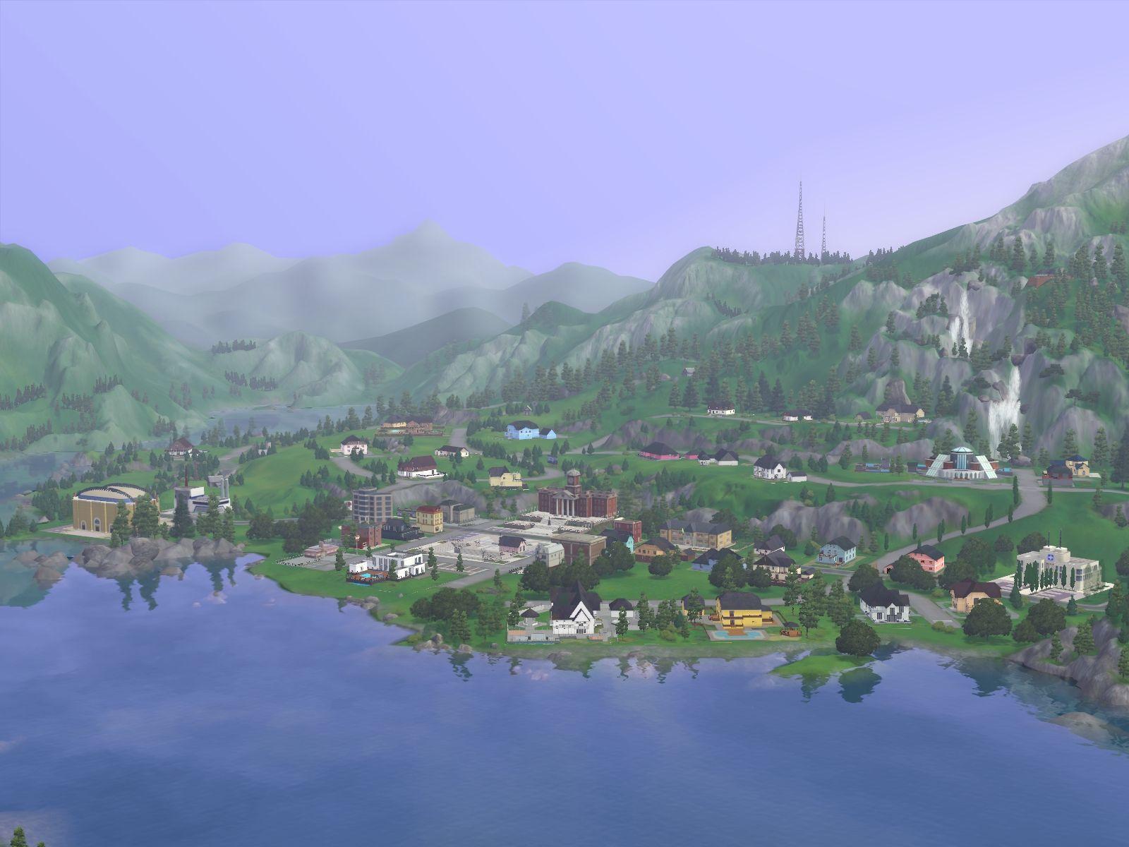 Představen přídavek The Sims 3: Horské lázně 48381