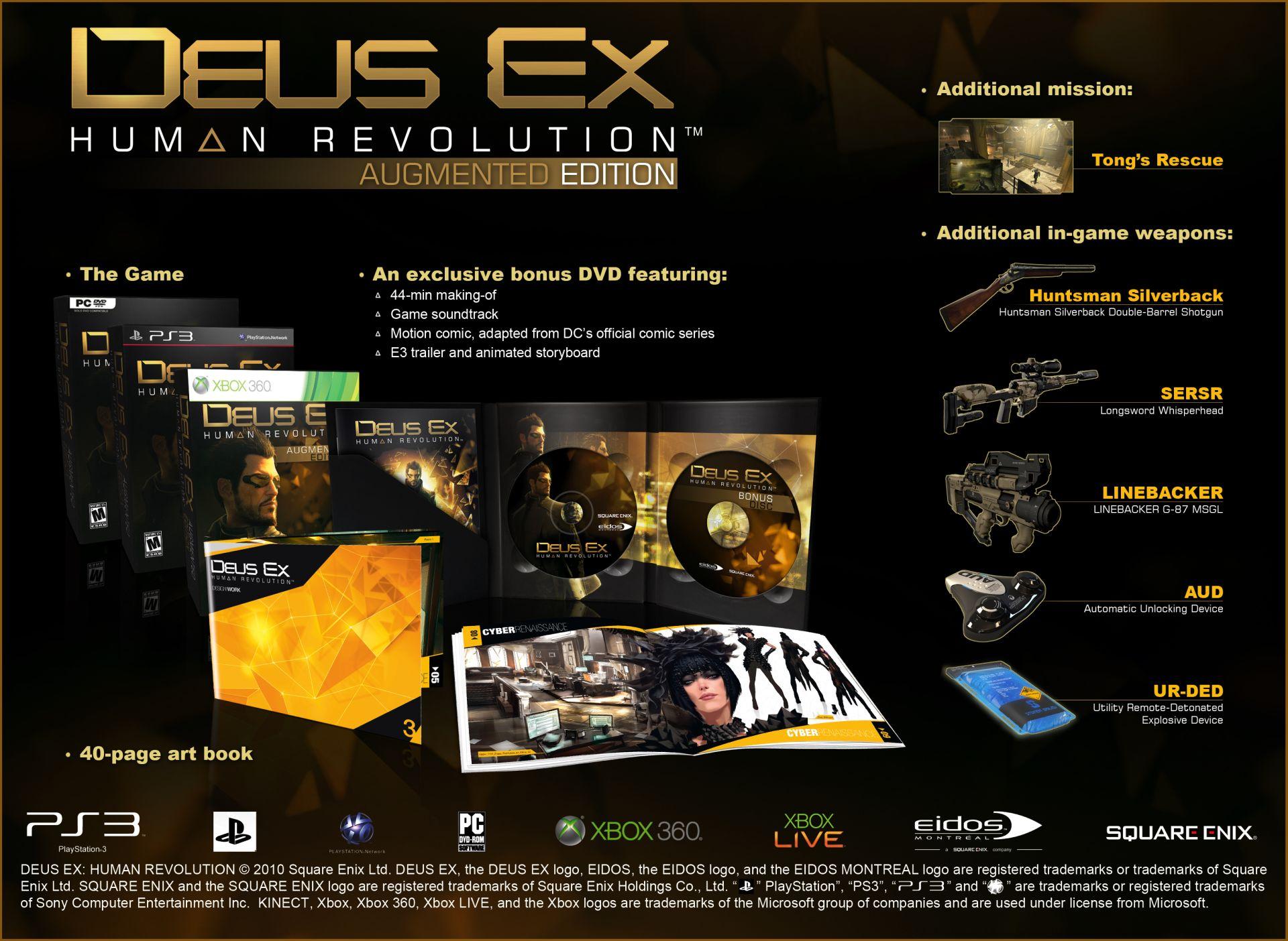 Jak si vybrat edici Deus Ex: Human Revolution 48406